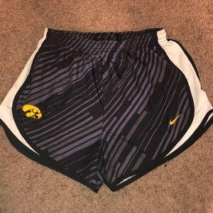 Iowa running shorts